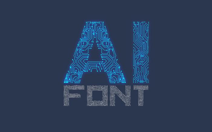 Ai Font poster