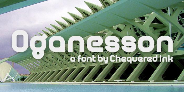Oganesson Font poster