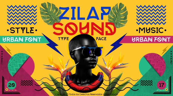 Zilap Sound Font poster