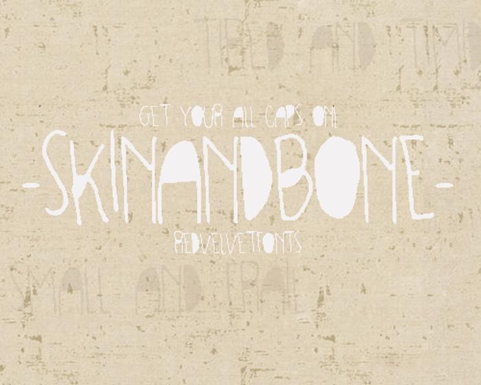 SKINANDBONE Font