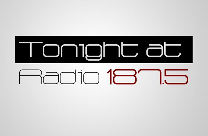 Radio 187.5 Font poster