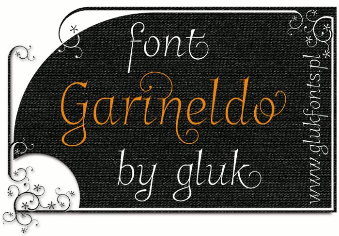 Garineldo Font poster