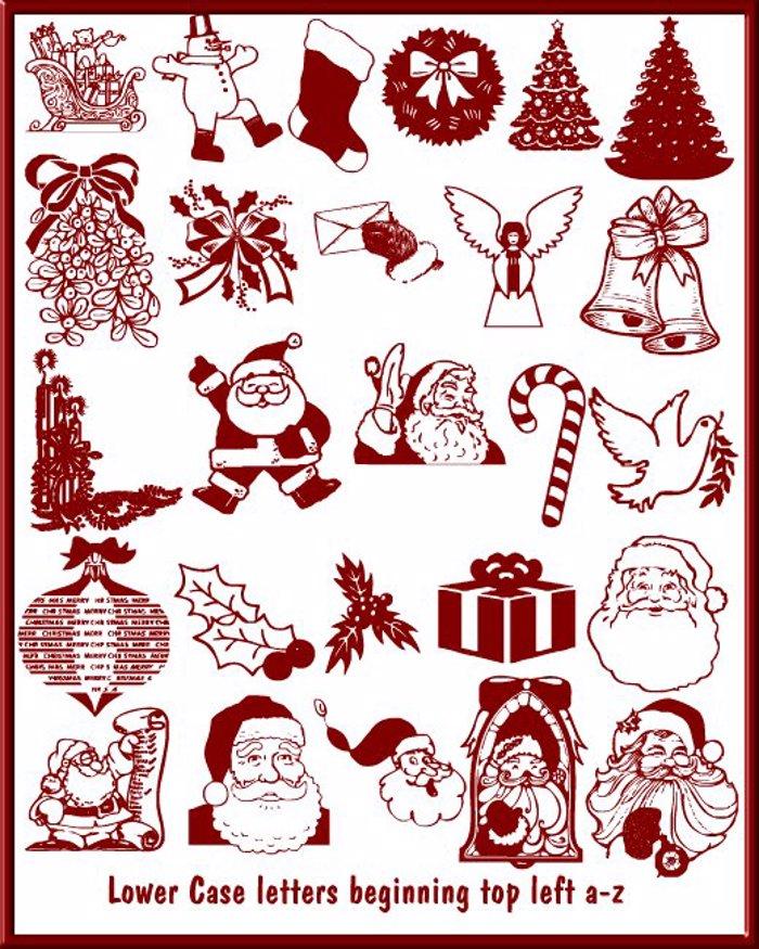 Christmas - Debbie Font poster