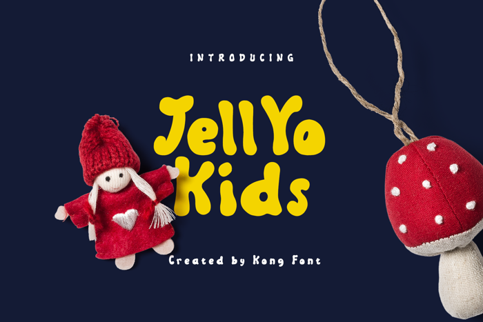 Jellyo Font poster