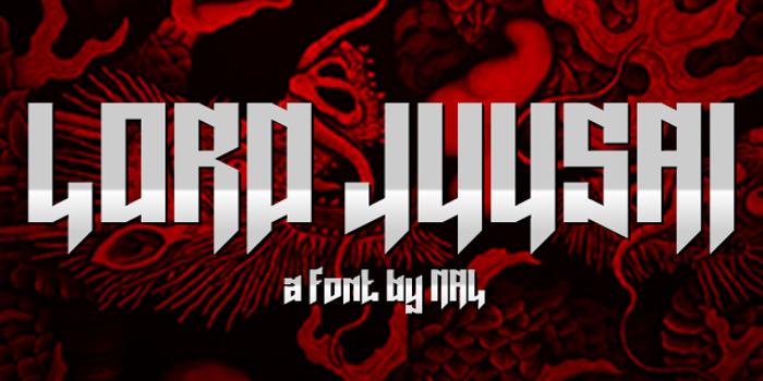 Lord Juusai Font poster
