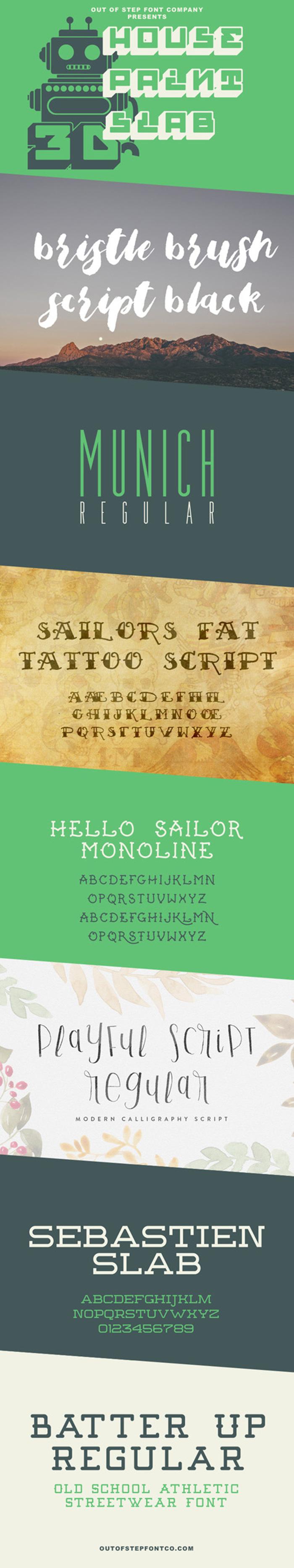 Bubble Frum Font poster