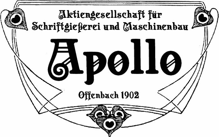 Apollo ASM Font poster