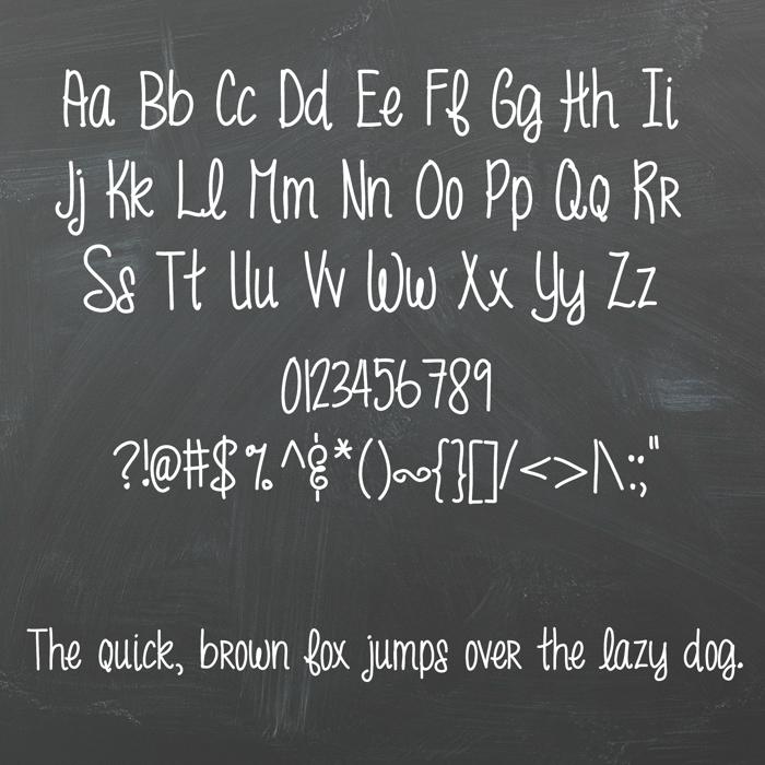 MRF funky fresh Font poster