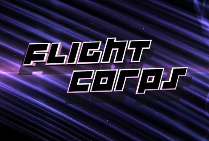 Flight Corps Font poster