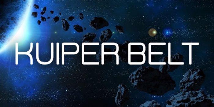 Kuiper Belt Font poster