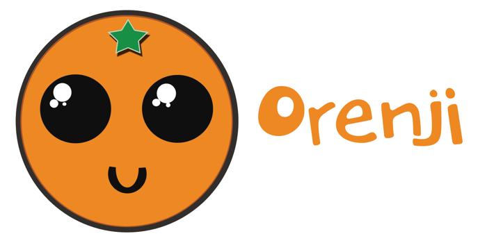 DK Orenji Font poster