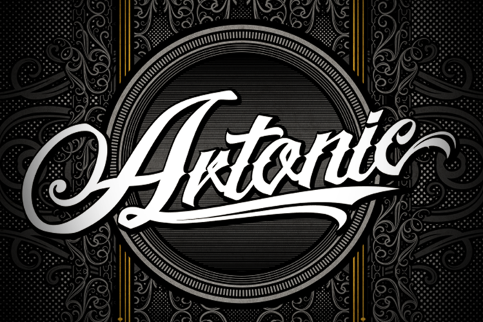 Artonic Font poster