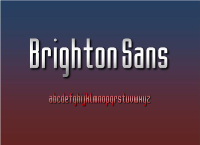 Brighton NBP Font