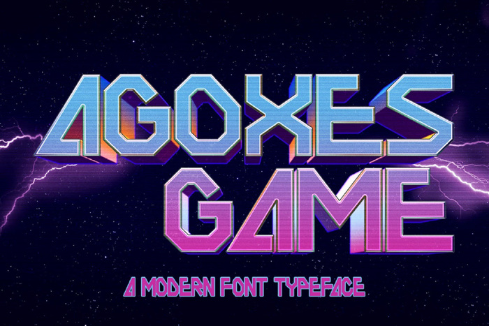 AGOXES GAME Font