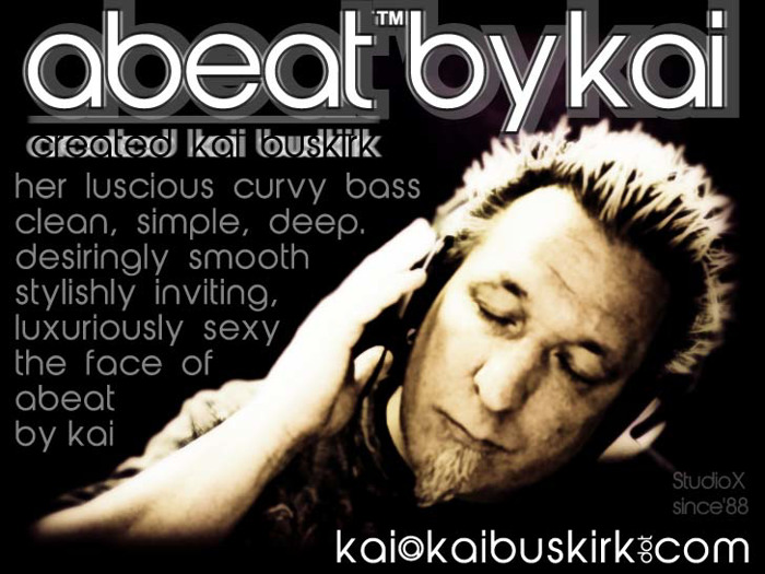 abeatbyKai Font poster