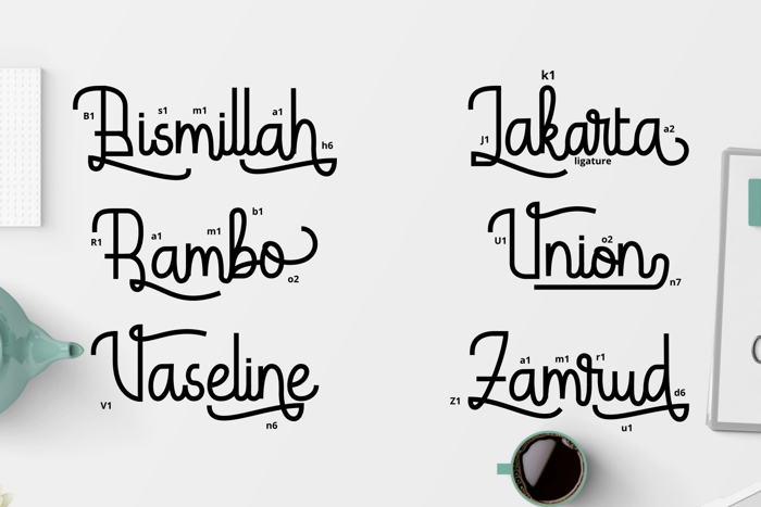 Hardolyn Font poster