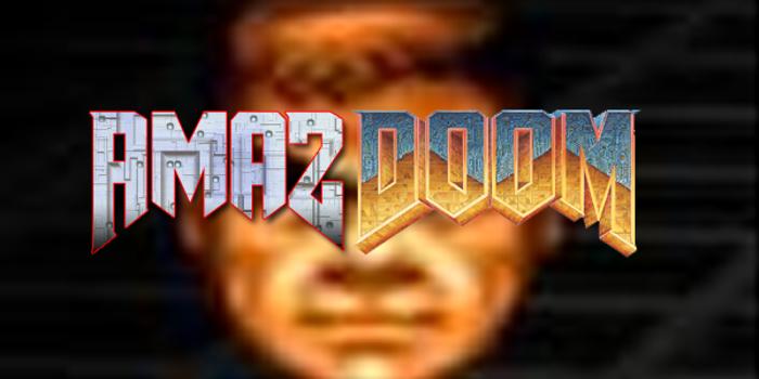 Amaz DooM Font poster