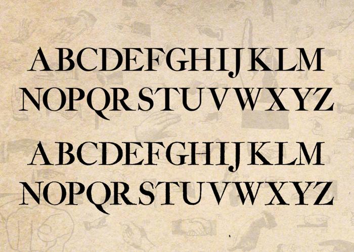 Amarfil Font poster