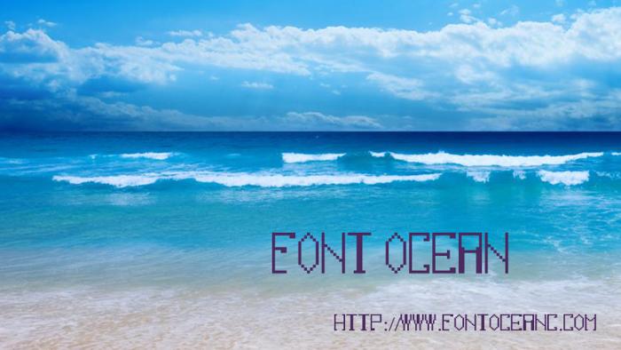 fontocean Font poster