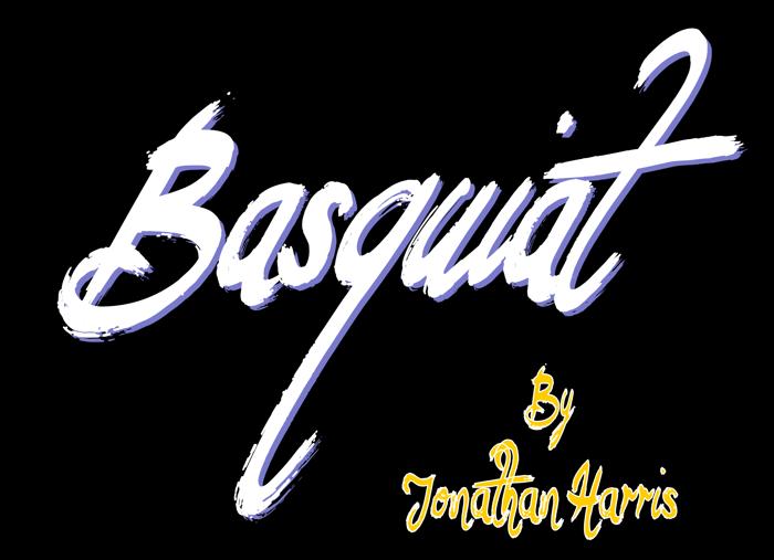 Basquiat Font poster