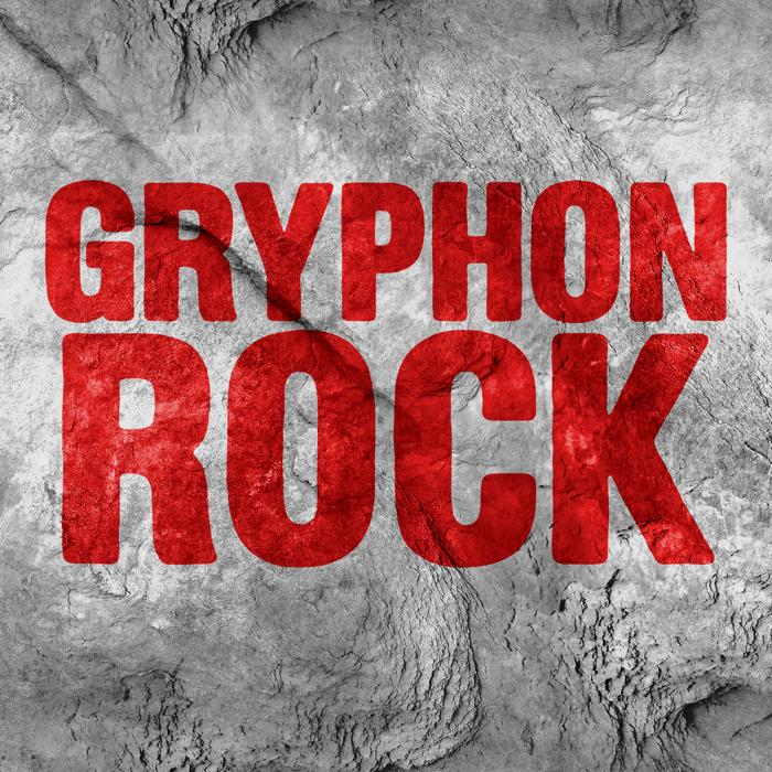 Gryphon Rock Font poster