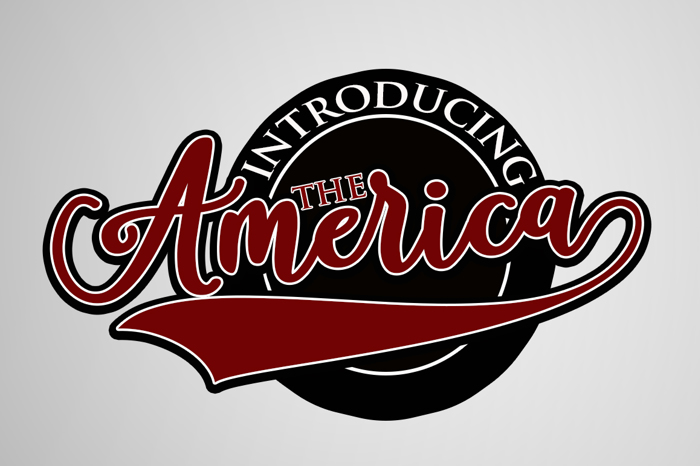 America Font poster