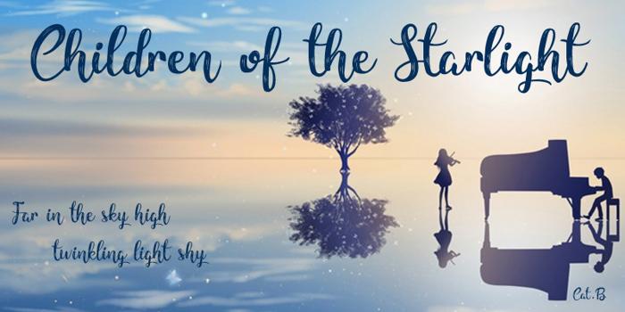 Children of the Starlight Font poster