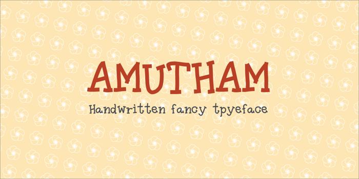 Amutham Font