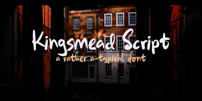 Kingsmead Script DEMO Font poster