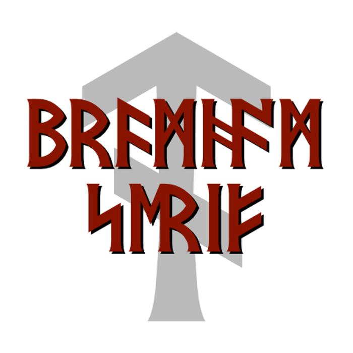 Bramham Serif Font poster