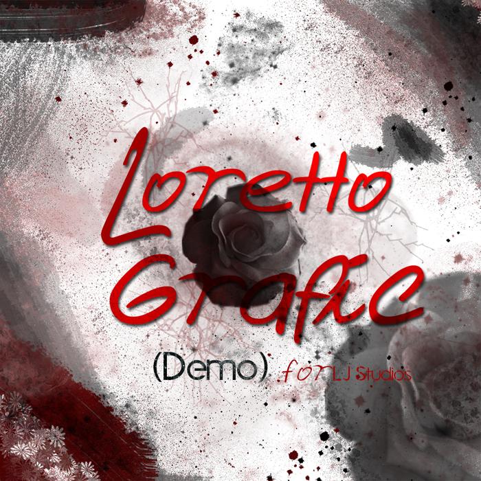 Loretto Grafic Font poster