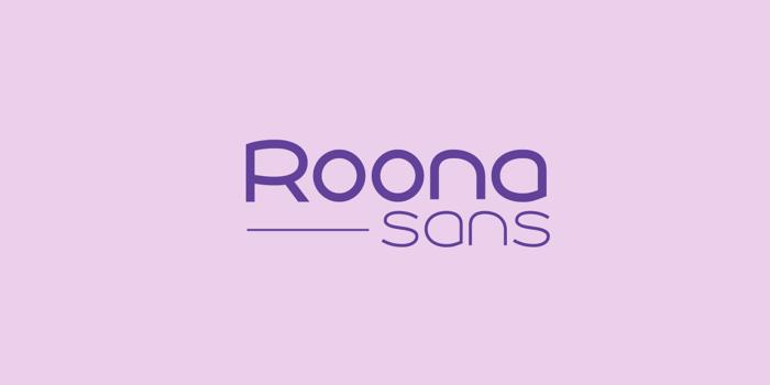 Roona Sans Font poster