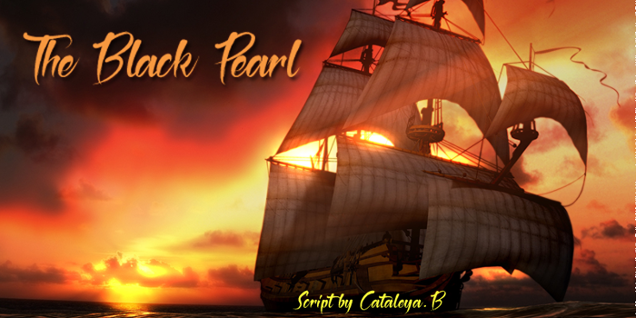 The Black Pearl Font poster