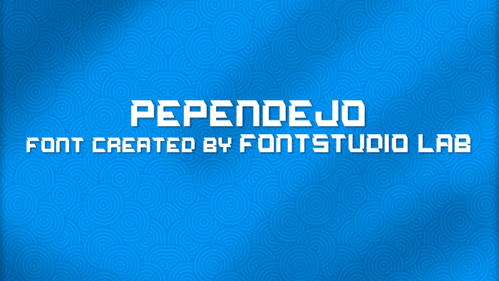 PePendejo Font poster