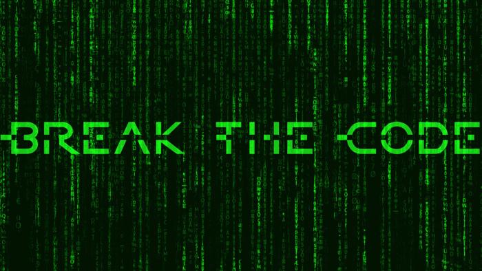 BreakTheCode Font poster