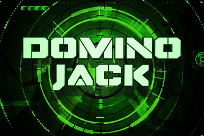 Domino Jack Font poster