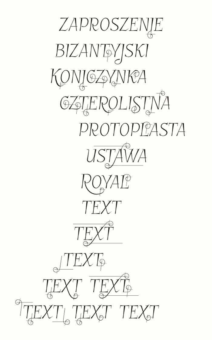 GarineldoSC Font poster