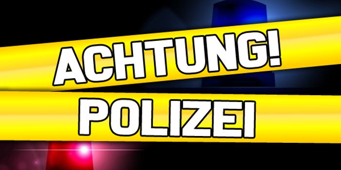 Achtung! Polizei Font poster