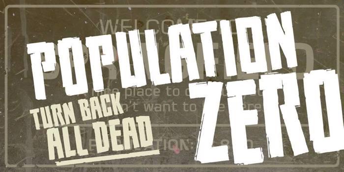 Population Zero BB poster