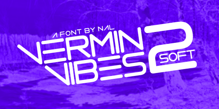 Vermin Vibes 2 Soft Font poster