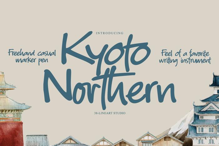 Kyoto Northern Font