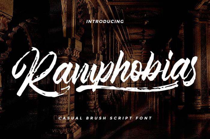Ramphobias Font poster