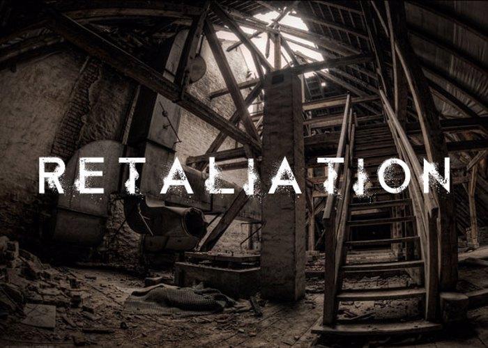 Retaliation Font poster