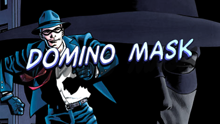 Domino Mask Font poster