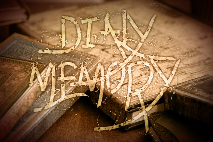 Daily memory Font poster