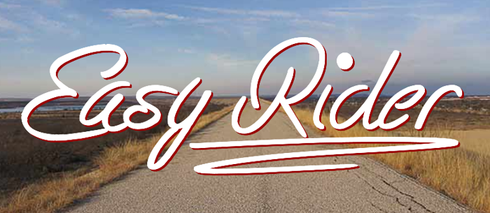 Easy Rider Font poster