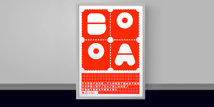 TicketMaster Font poster