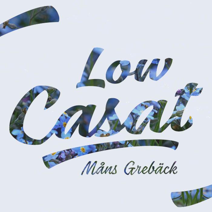 Low Casat Font poster