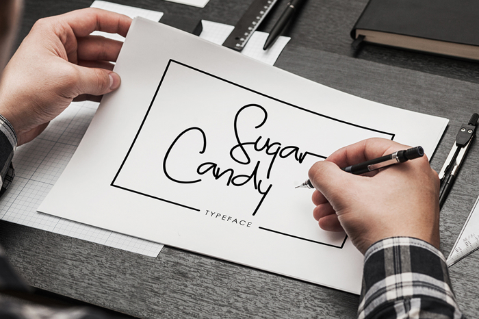 Sugar Candy Font poster