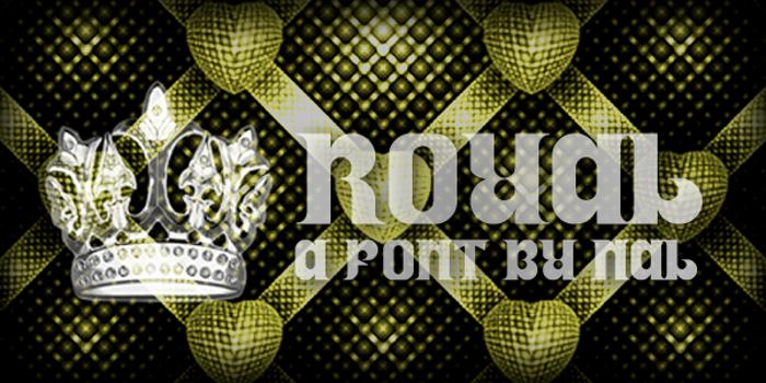 Royal Font poster